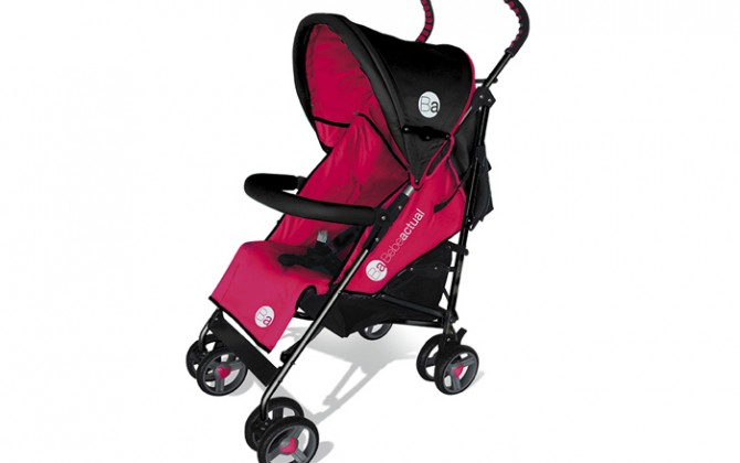 Pushchair-Diamond-red