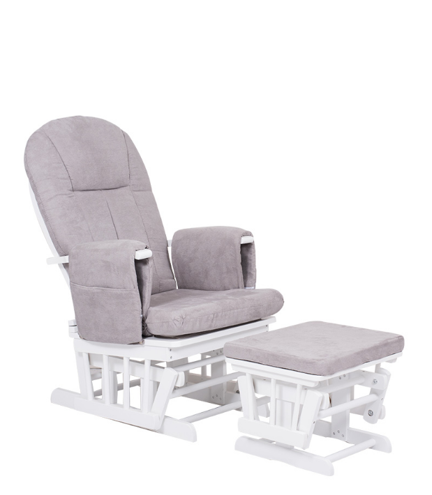 Nursery Glider Chair With Foot Stool
