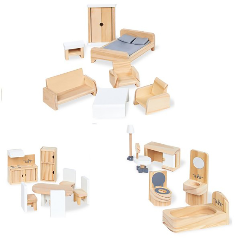Dollhouse Furniture 20 Pieces, Pictures Of Dollhouse Furniture